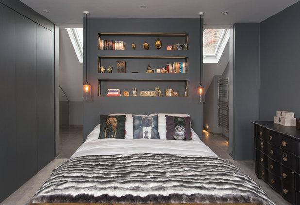 Contemporain Chambre Contemporary Bedroom