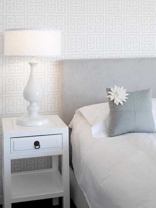 Contemporary Bedroom Idea In San Francisco With Multicolored Walls