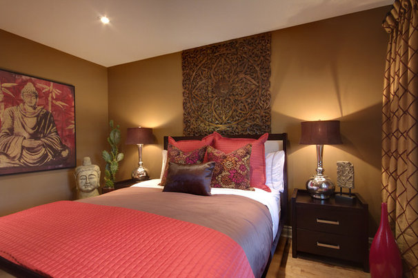 Contemporary Bedroom by Avalon Interiors
