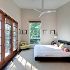 Contemporary Bedroom by Benco Construction
