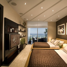 Modern Bedroom by Britto Charette Interiors - Miami Florida