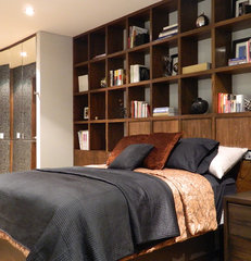 contemporary bedroom by Bºdega