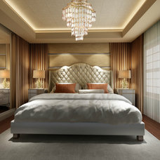 Contemporary Bedroom by Charles Neal Interiors