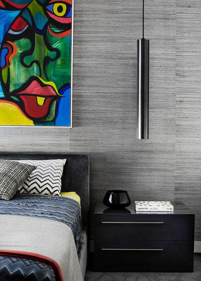 Contemporaneo Camera da Letto Contemporary Bedroom