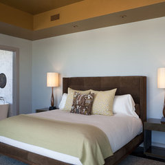 contemporary bedroom by Cravotta Interiors