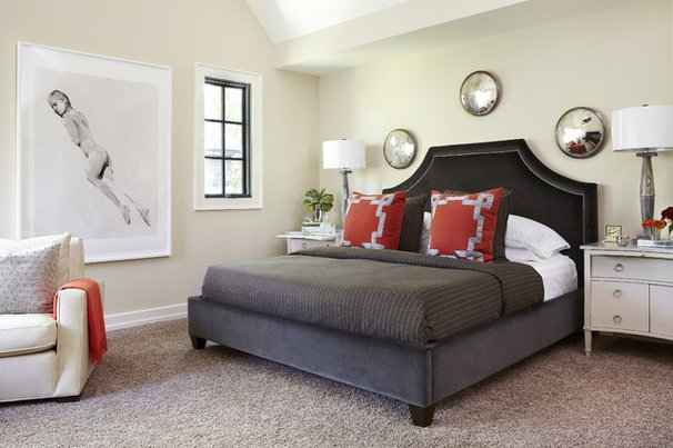 Contemporary Bedroom by Denise McGaha Interiors
