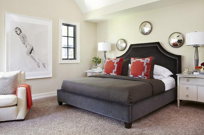 Contemporary Bedroom by Denise McGaha Interiors