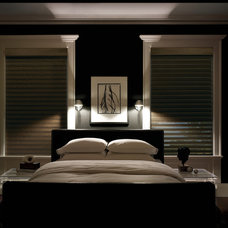 Contemporary Bedroom by Designer Window Fashions