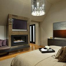 Contemporary Bedroom by Douglas Design Studio