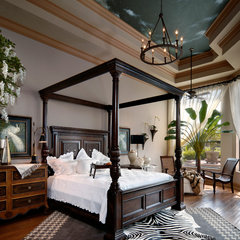 contemporary bedroom by Dreamstar Custom Homes
