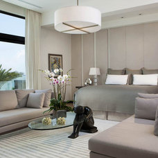 Contemporary Bedroom by Charlotte Dunagan Design Group