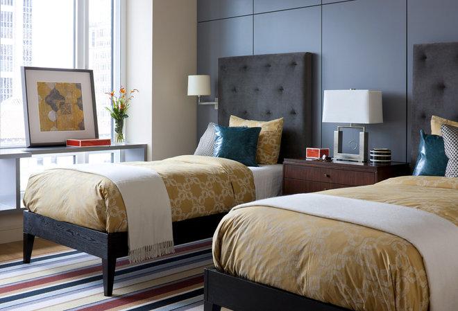 Contemporary Bedroom by Elms Interior Design