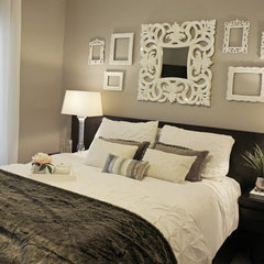 contemporary bedroom by Fabiola Avelino