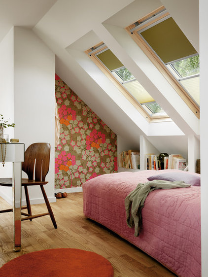 Contemporary Bedroom by Fenstermann LLC
