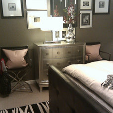 Contemporary Bedroom by FOCAL POINT STYLING