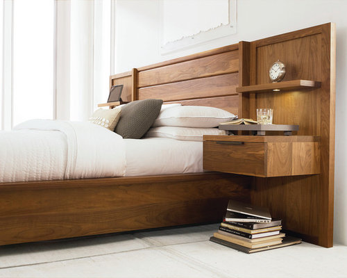 trendy bedroom furniture. inspiration for a contemporary bedroom remodel in toronto trendy furniture