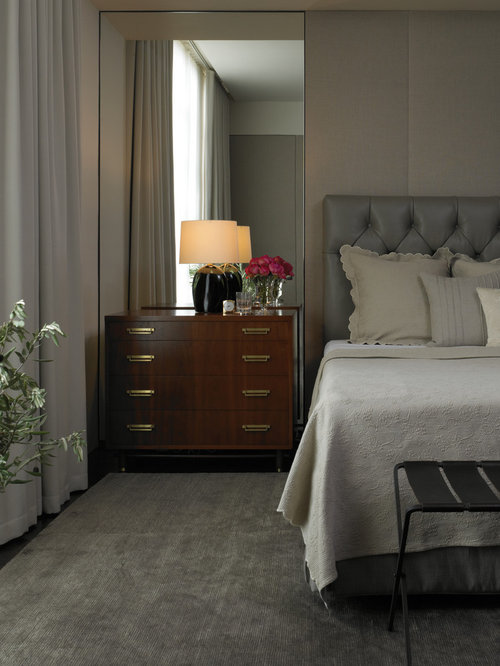 Mirrors Behind Nightstands Houzz