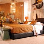 Parisian Paris Themed Bedroom Contemporary Bedroom
