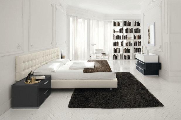 contemporary bedroom contemporary bedroom - White Floor Bedroom