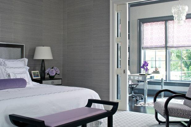 Fusion Bedroom Contemporary Bedroom