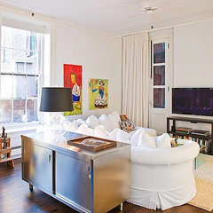 eclectic bedroom by ABCD Design LLC