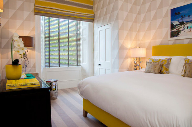 Contemporary Bedroom by Malcolm Duffin Design