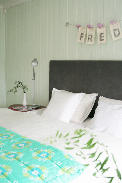 Contemporary Bedroom by Jeanette Lunde