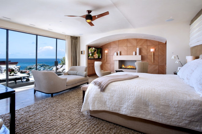 Contemporary Bedroom by Jeremy Harnish Designer Finishes