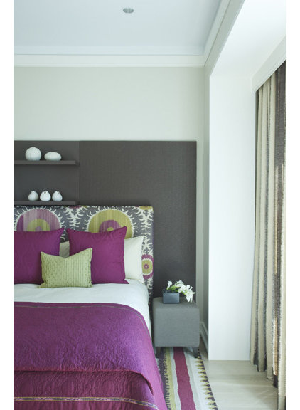 contemporary bedroom by Jessica Lagrange