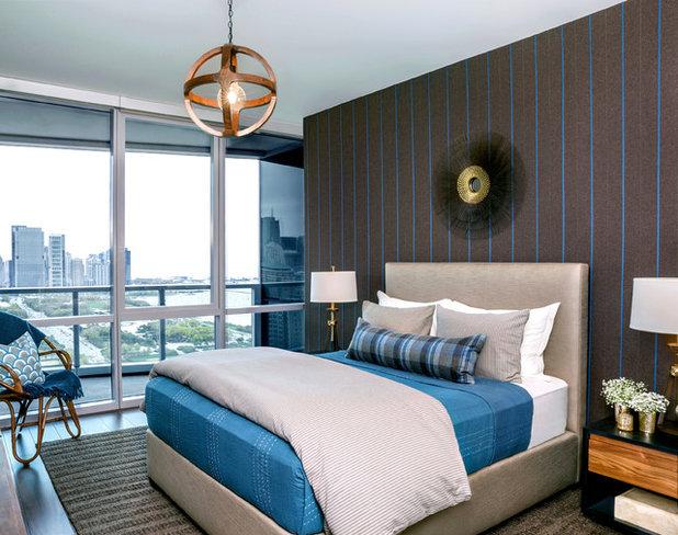 Contemporáneo Dormitorio Contemporary Bedroom
