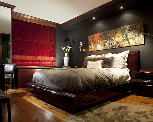 SaveEmail  Contemporary Bedroom. Dark Bedroom Ideas  Pictures  Remodel and Decor