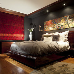 contemporary bedroom by Joe Ginsberg