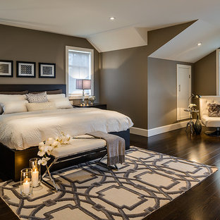 Dark Gray Walls Bedroom Ideas And Photos Houzz