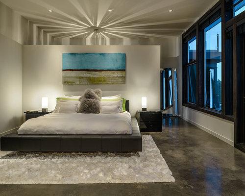 Concrete Bed Home Design Ideas Renovations Photos