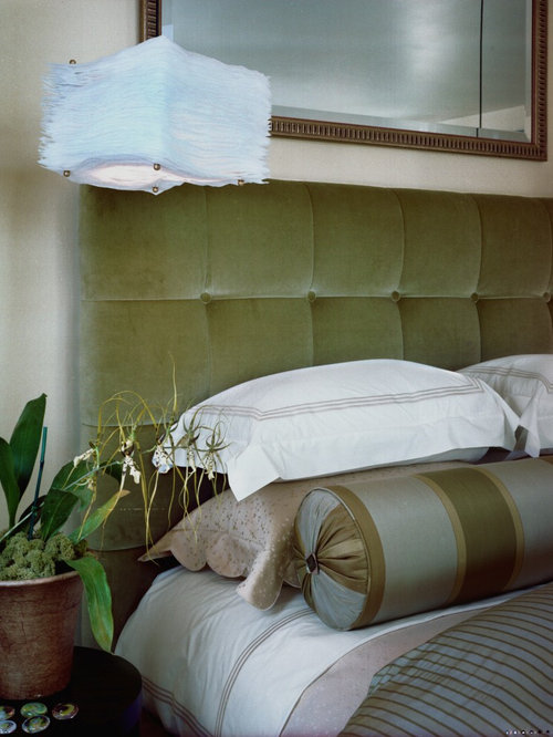 green headboard  houzz, Headboard designs