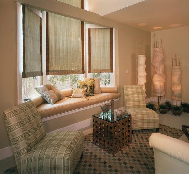 Contemporary Bedroom by Kathy Bloodworth Interior Design