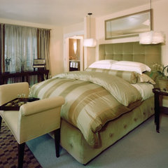 contemporary bedroom by Kathy Bloodworth Interior Design