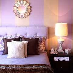 contemporary bedroom by Kelly Porter
