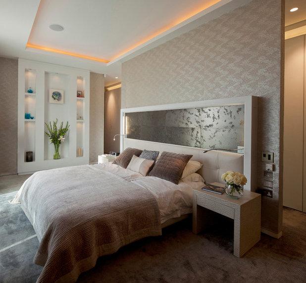 Trasformare la camera da letto in una suite di lusso con - Cornici per camere da letto ...