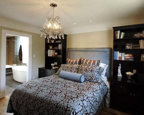 Bookshelf nightstand houzz for 12x12 bedroom