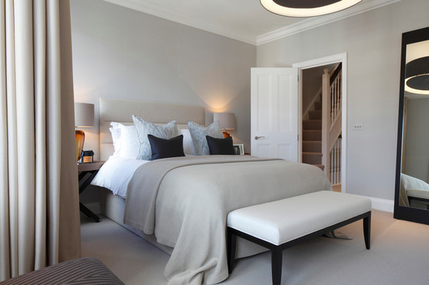 Contemporary Bedroom by Laura Hammett Ltd