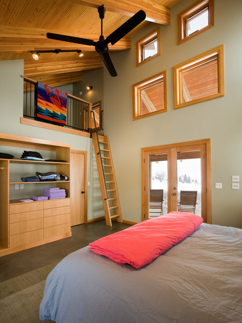 Loft Bedroom Home Design Ideas Pictures Remodel And Decor