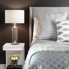 Contemporary Bedroom by Lisa Petrole Photography