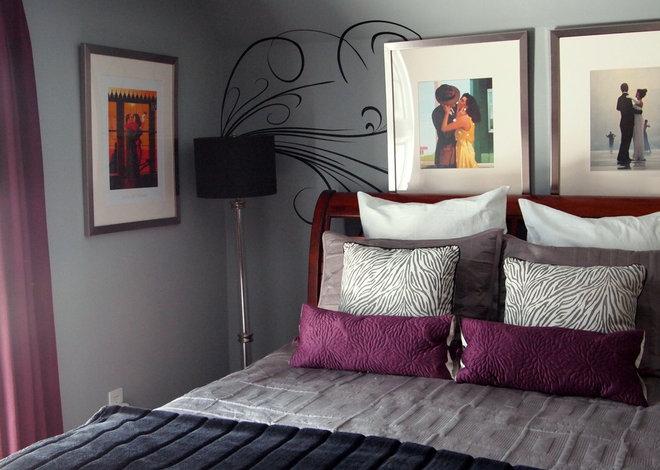 contemporary bedroom by shoshana gosselin