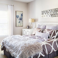 Contemporary Bedroom by Lowery Design Group