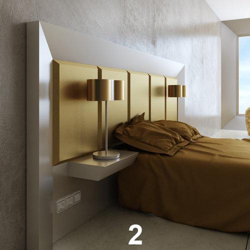 Design Ideas For A Modern Bedroom In Miami.