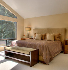 contemporary bedroom by knowles ps