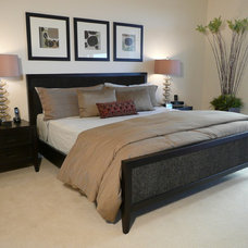 Contemporary Bedroom by Michael Segal