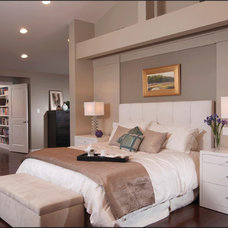 Contemporary Bedroom by National Association of the Remodeling Industry