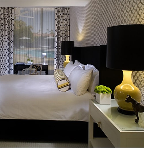 black and yellow bedroom design ideas, remodels  photos  houzz,